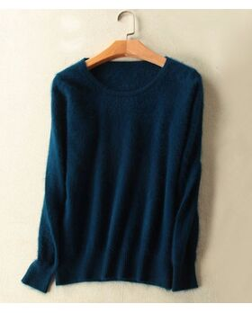 Angora Pullover Amelie navy
